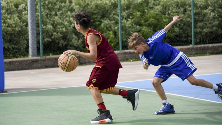 campo estivo basket